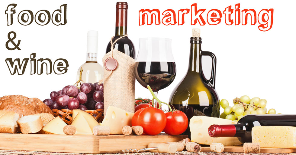 food and wine marketing