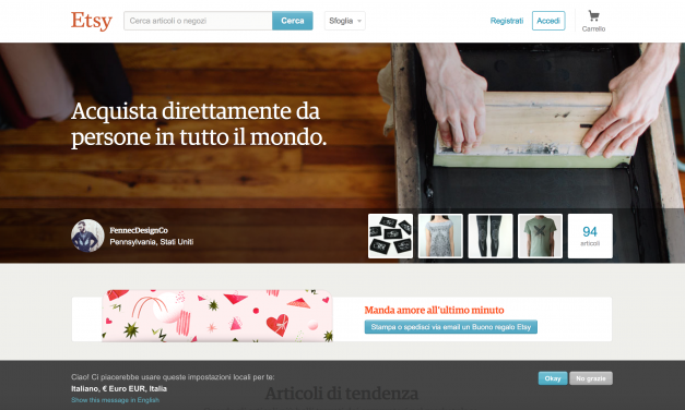 Etsy e Blomming: come utilizzarli per il social commerce