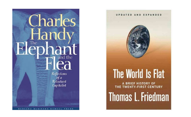 the elephant and the flea the world is flat